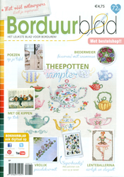 Borduurblad 72a feb/mrt 2016