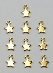 Charms Mini Star (10 pieces) - Birdhouse Enterprise