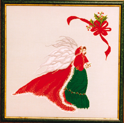 Cross Stitch Chart Holly - Black Swan Designs