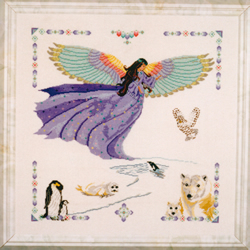 Cross Stitch Chart Aurora - Black Swan Designs