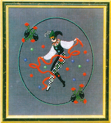 Cross Stitch Chart Jester's Dance - Black Swan Designs