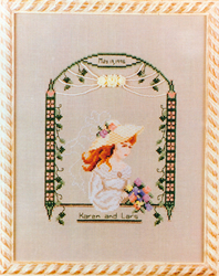 Cross Stitch Chart Summer Bride - Black Swan Designs