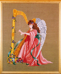 Cross Stitch Chart Angelic Melody - Black Swan Designs
