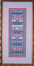 Cross Stitch Chart Angels Watch - Black Swan Designs
