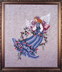 Cross Stitch Chart Morning Glorie - Black Swan Designs