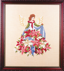 Cross Stitch Chart Poinsettia - Black Swan Designs