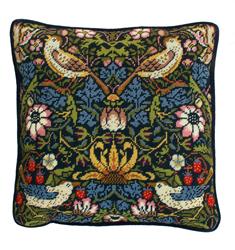 Borduurpakket William Morris - Strawberry Thief - Bothy Threads