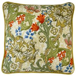 Cross stitch kit William Morris - Golden Lily - Bothy Threads