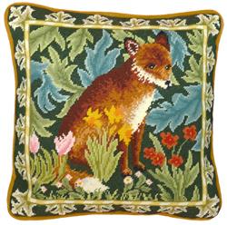 Cross stitch kit William Morris - Woodland Fox Tapestry - Bothy Threads