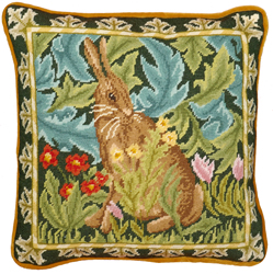 Borduurpakket William Morris - Woodland Hare Tapestry - Bothy Threads