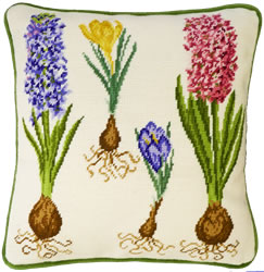 Cross stitch kit Hyacinth And Crocus - Bothy Threads