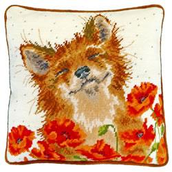 Borduurpakket Hannah Dale - Poppy Field - Bothy Threads