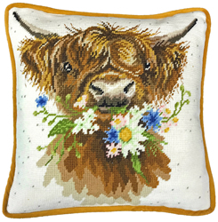 Borduurpakket Hannah Dale - Daisy Coo Tapestry - Bothy Threads