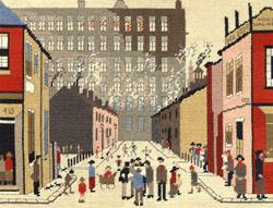 Borduurpakket Lowry - Street Scene - Bothy Threads