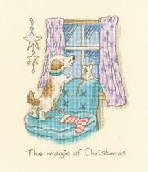 Borduurpakket Anita Jeram - The magic of Christmas - Bothy Threads