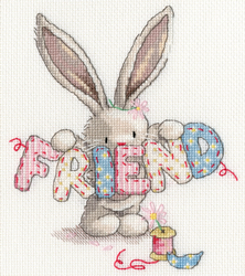 Cross stitch kit Bebunni - Friend - Bothy Threads
