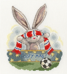Borduurpakket Bebunni - Footy Mad - Bothy Threads