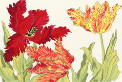 Cross stitch kit Tulip Blooms - Bothy Threads