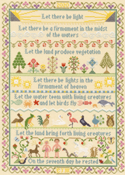 Cross stitch kit Bothy Design - Let There Be Light - Bothy Threads