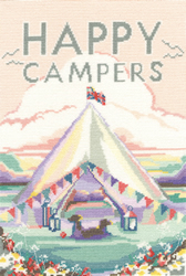 Cross stitch kit Becky Bettesworth - Vintage Camping - Bothy Threads