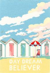 Cross stitch kit Becky Bettesworth - Vintage Beach Huts - Bothy Threads