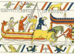 Borduurpakket Bothy Designs - The Normans' Landing - Bothy Threads