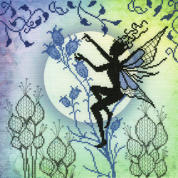 Cross stitch kit Lavina Stamps' Fairies - Harebell - Bothy Threads