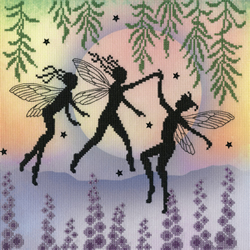 Cross stitch kit Lavina Stamps' Fairies - Fairy Dance - Bothy Threads