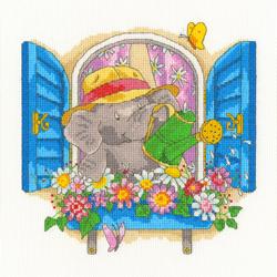 Borduurpakket Simon Taylor-Kielty - Bloomin' Lovelly - Bothy Threads
