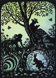 Borduurpakket Fairy Tales - I'm Late - Bothy Threads