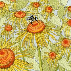 Borduurpakket Fay Miladowska - Sunflower Garden - Bothy Threads