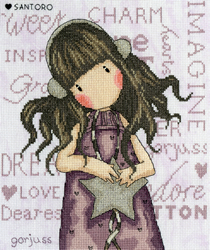 Cross stitch kit Gorjuss - All These Words - Bothy Threads