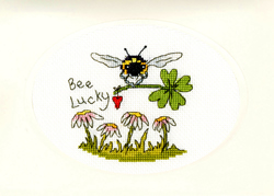 Cross stitch kit Eleanor Teasdale - Bee Lucky - Bothy Threads