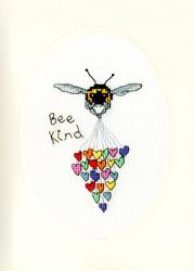 Borduurpakket Eleanor Teasdale - Bee Kind - Bothy Threads
