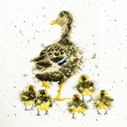 Cross stitch kit Hannah Dale - Lovely Mum - Bothy Threads
