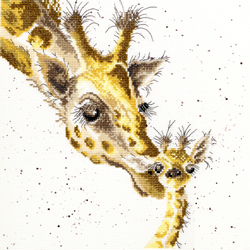 Cross stitch kit Hannah Dale - First Kiss - Bothy Threads