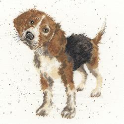 Borduurpakket Hannah Dale - Beagle - Bothy Threads