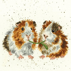 Cross stitch kit Hannah Dale - Lettuce Be Friends - Bothy Threads