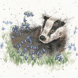 Cross stitch kit Hannah Dale - Bluebell Wood - Bothy Threads
