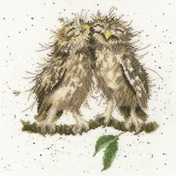 Borduurpakket Birds Of A Feather - Bothy Threads