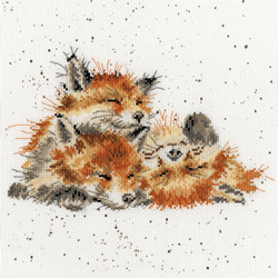 Cross stitch kit Hannah Dale - Afternoon Nap - Bothy Threads