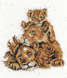 Cross stitch kit Hannah Dale - Family Pride - Bothy Threads