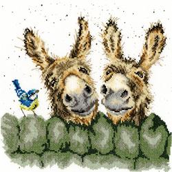 Cross stitch kit Hannah Dale - Hee Haw - Bothy Threads