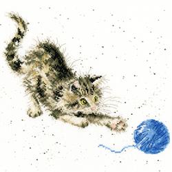 Cross stitch kit Hannah Dale - Kitty - Bothy Threads