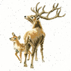 Cross stitch kit Hannah Dale - Wild At Heart - Bothy Threads