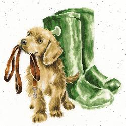 Cross stitch kit Hannah Dale - Hopeful - Bothy Threads