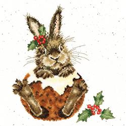 Cross stitch kit Hannah Dale - Little Pudding - Bothy Threads