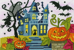 Cross stitch kit Halloween - Spooky! - Bothy Threads