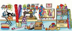 Borduurpakket Julia Rigby - Sewing Fun - Bothy Threads