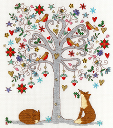 Borduurpakket Love - Love Winter - Bothy Threads